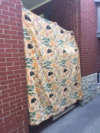 Vintage Japanese Tapestry Style Curtains Toronto, M6P 1L9