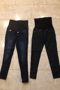 Size small maternity skinny jeans