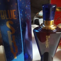 Blue Sky parfum with box Montréal, H2E 1Z3