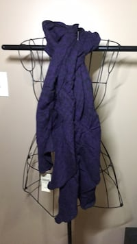 *NEW WITH TAGS* purple houndstooth Coldwater Creek scarf  East Ridge, 37412