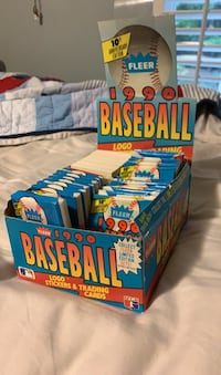 Old (new) 1990 baseball cards