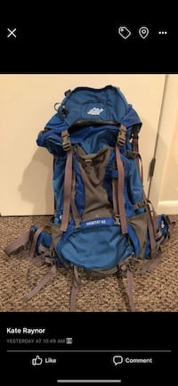 EMS hiking backpack used only once Trenton, 08608