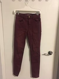 American Eagle Outfitters Cranberry Hi-Rise Jegging London, N6G