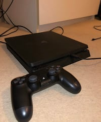 PS4 Slim with Controller