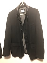 Armani Suède and leather jacket
