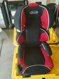 red and black Graco car seat Tracy, 95377