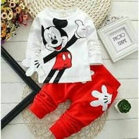Joginge  blanc et rouge Mickey Mouse  Freyming-Merlebach, 57800
