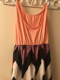 Striped maxi dress Calgary, T2R 0H9