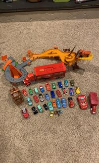 Cars the movie toy collectio
