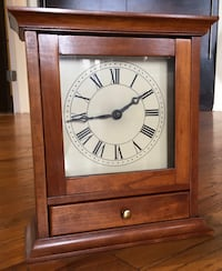 Clock w/ drawer OAK