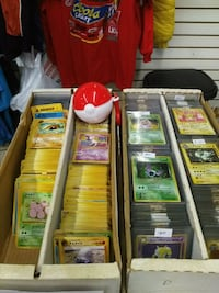 Pokemon cards @ North Point Flea Market Dundalk, 21222