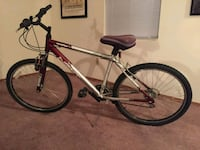 black and red hardtail mountain bike Bedford, 47421