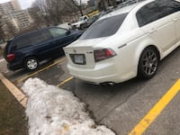 2007 Acura TL Type S car is in good condition comes lowered on coilovers Toronto
