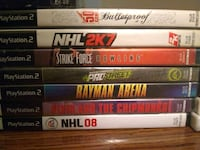 assorted Sony PS3 game cases Edmonton, T5E 4E8