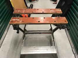 Black and decker folding work table
