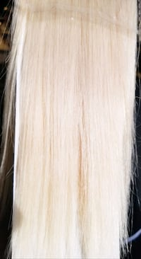 Tape ins blonde #60a 20inch Hair extensions  Burnaby, V5A 4A5