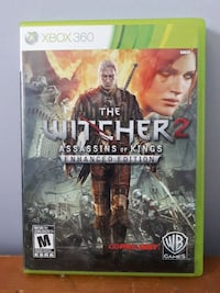 Xbox 360 Witcher 2 game