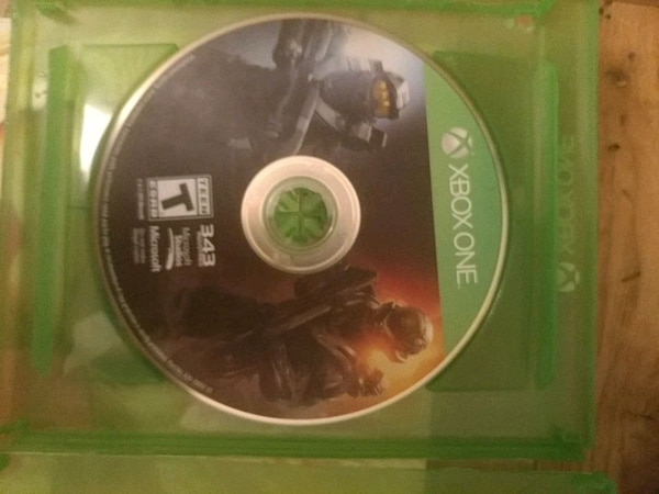 Xbox 360 Halo 3 game disc