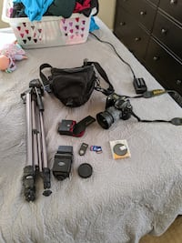 Nikon DSLR D50 + Bag & Equipment