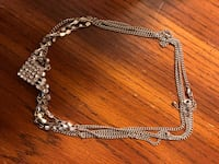 silver-colored chain link necklace Mississauga, L4Y 4E2