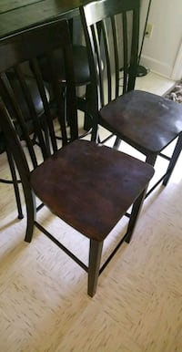 Wooden bar chairs Fort Campbell