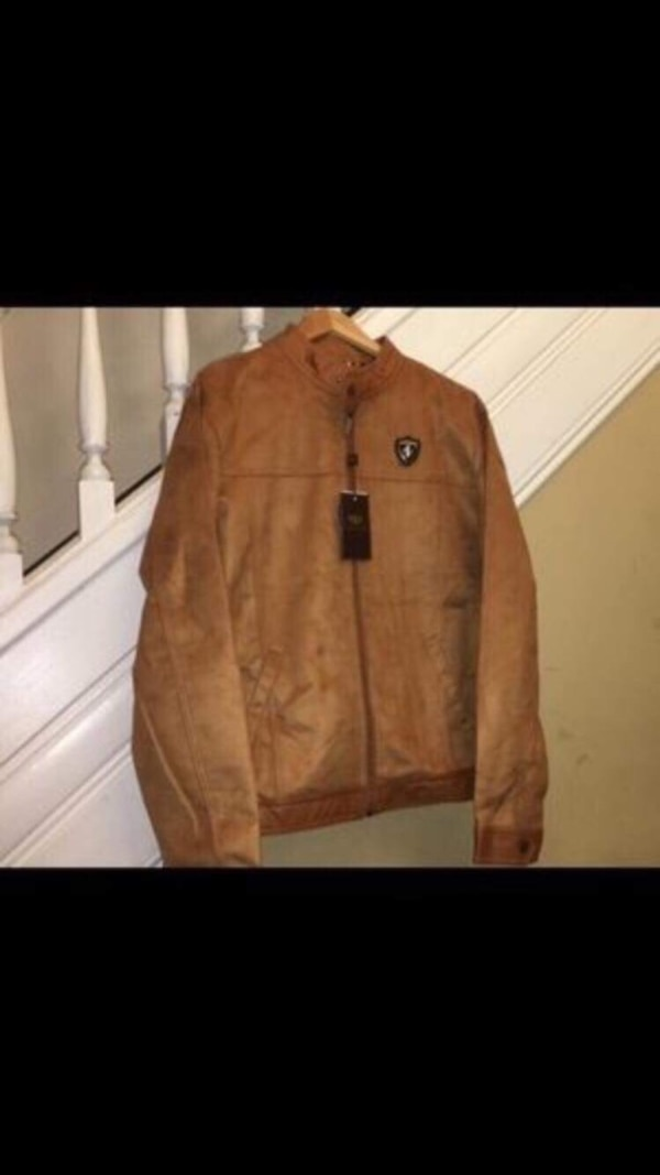 Used Emporio Co Brown Suede Jacket For Sale In Catskill Letgo