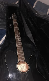 Electric Acoustic Guitar & Case
