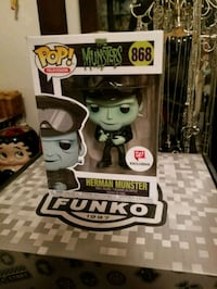 Herman Munster exclusive funko pop (FIRM PRICE) Toronto, M1L 2T3