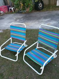 Like new to foldable chairs Casselberry, 32707