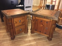 2 custom-made wooden side tables Nashville, 37206