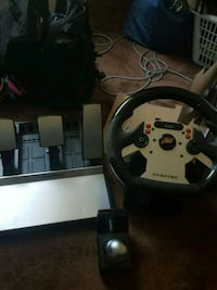 Fanatec wheel, shifter and pedals