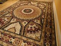 New 7x10 silk rug carpet 38 km