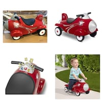 Radio Flyer, Retro Rocket With Lights & Sounds, Ride-on