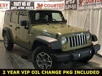 2013 Jeep Wrangler Unlimited Rubicon, Fully reconditioned, Dual Tops