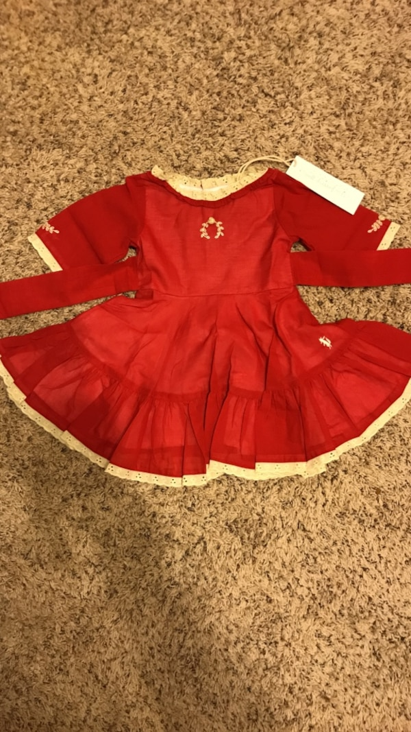 well dressed wolf 18 month christmas dress never worn