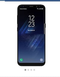 Black samsung galaxy s8 smartphone AT&T  BRAND NEW Woodbridge, 22191