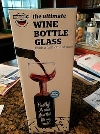 Wine Bottle Glass,  NEW in box Burtonsville, 20866