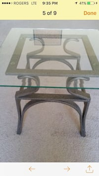 Glass coffee table, comes with two side tables Winnipeg, R2M 2J7