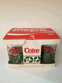 "Vintage ""Coca Cola"" Glass Set Surrey, V3S 3H7"