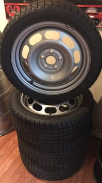 5 by 114 brand new rims and tires 225 40 18 Vaughan, L4L 3T4