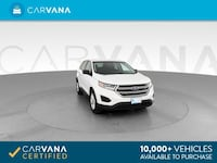 2016 *Ford* *Edge* SE Sport Utility 4D suv White Brentwood