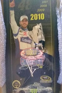 Rare Jimmie Johnson Limited Edition plaque