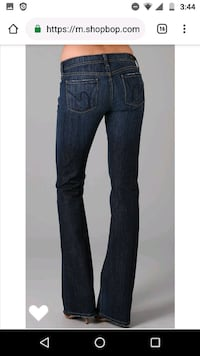 Citizens of Humanity Jeans size 25 Mint 3127 km