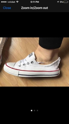 White Converse All Star low top sneaker