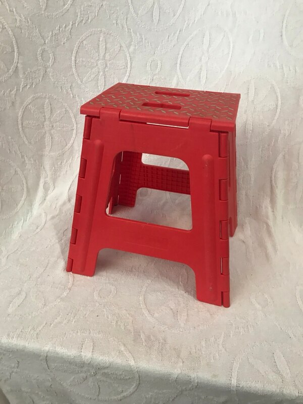 Cool Small Red Fold Up Stool Ibusinesslaw Wood Chair Design Ideas Ibusinesslaworg