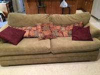 brown suede 2-seat sofa Maryville, 37801