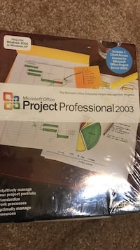 Microsoft office project professional 2003 textbook Suffolk, 23435