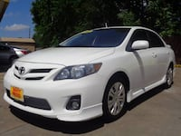 2012 TOYOTA COROLLA, FINANCED ONLY