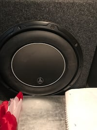 JL Audio W6 10 in ported box less then a year old. You can hear it before you buy it