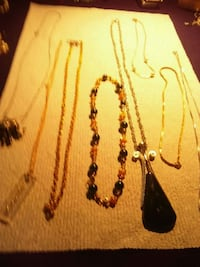8 necklaces all for 20 Orrville, 44667